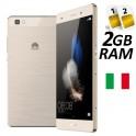 HUAWEI P8 LITE DUAL SIM 16GB LTE GOLD GARANZIA 24 MESI ITALIA NO BRAND