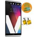 LG V20 DUAL SIM H990 4GB RAM 64GB SILVER NO BRAND RESO PERCHE' NON PIACIUTO