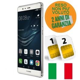 HUAWEI P9 32GB DUAL SIM SILVER GARANZIA ITALIA NO BRAND RESO NON PIACIUTO