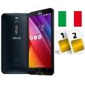 ASUS ZENFONE 2 ZE551ML DUAL SIM 32GB LTE BLACK GARANZIA 24 MESI ITALIA NO BRAND