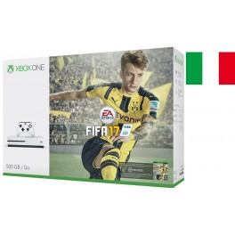 XBOX ONE S 500GB CONSOLE 4K UHD   FIFA 2017 LIMITED EDITION