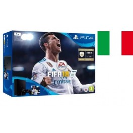 SONY PLAYSTATION PS4 SLIM 1TB CHASSIS E BLACK ITALIA + FIFA 2018