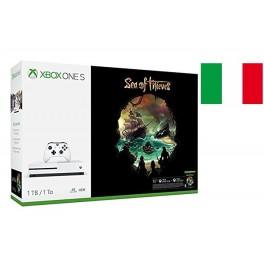 XBOX ONE S 1TB   SEA OF THIEVES 4K UHD WHITE ITALIA