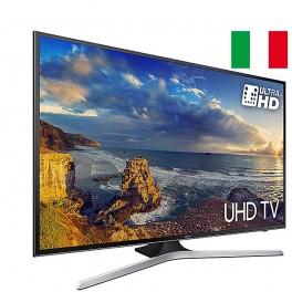 "SAMSUNG TV LED 49"" 4K ULTRA HD SMART TV WIFI BLACK UE 49MU6120 ITALIA"