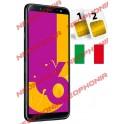 SAMSUNG GALAXY J6 2018 DUAL SIM SM- J600 DS 32GB BLACK GARANZIA ITALIA NO BRAND