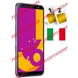 SAMSUNG GALAXY J6 2018 DUAL SIM SM- J600 DS 32GB LAVANDER ITALIA NO BRAND