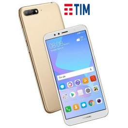 HUAWEI Y6 2018 MONO SIM 16GB GOLD GARANZIA 24 MESI ITALIA BRAND