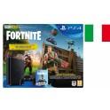 SONY PLAYSTATION PS4 SLIM 500GB CHASSIS E BLACK ITALIA + FORTNITE