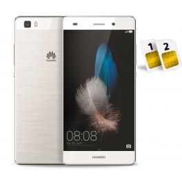 HUAWEI P8 LITE DUAL SIM 16GB LTE WHITE GARANZIA 24 MESI EUROPA NO BRAND