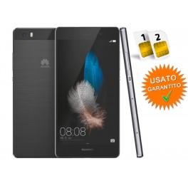 HUAWEI P8 LITE DUAL SIM 16GB LTE BLACK NO BRAND RESO PERCHE' NON PIACIUTO