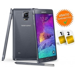 SAMSUNG GALAXY NOTE 4 SM- N910H DUAL SIM DUOS 16GB BLACK NERO NO BRAND