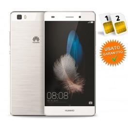HUAWEI P8 LITE DUAL SIM 16GB 4G WHITE GARANZIA 2 ANNI NO BRAND RESO NON PIACIUTO