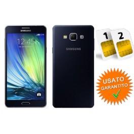 SAMSUNG GALAXY A7 DUAL SIM SM- A700 YD 16GB 4G BLACK NO BRAND RESO NON PIACIUTO